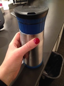 If you have to drink your homemade coffee out of a travel mug, know that these contigos are THE BEST and worth every penny! No leak and keeps coffee hot for hours